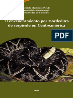 El Envenenamiento Por Mordedura en Centroamerica 2009 Color
