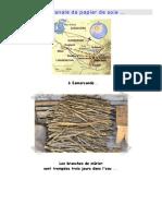 Fabrication Artisanale de Papier de Soie