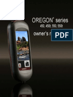 Manual GPS Oregon 550
