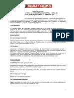 Edital nº 02/2009 ServiÇo Nacional de Aprendizagem