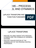Lect. 08 Che 185 - Laplace Transform and Transfer Functionsx