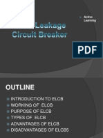 Earth Leakage Circuit B