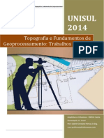 Topografia Fundamentos Geoprocessamento UNISUL 2014