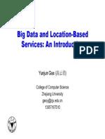 Big Data and Lbs