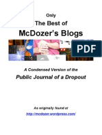 The Best of McDozer's Blog