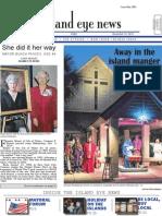 Island Eye News - December 19, 2014