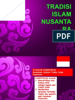 Tradisi Islam Nusantara presentasi