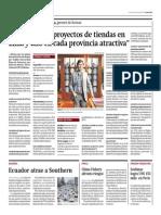 GAP Tenemos Dos Proyectos de Tiendas en Lima