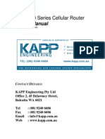 KAPP 800 Series Cellular Router Users Manual V1 44