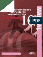 Definir Funciones y Estructuras Organizativas