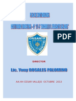 Plan de Contingencia de I.E Nº 171-4 2013