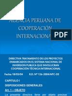 Agencia Peruana de Cooperación Internacional.