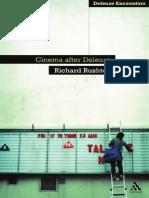Rushton Richard Cinema After Deleuze Deleuze Encounters