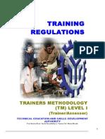 TR Trainers Methodology Level I