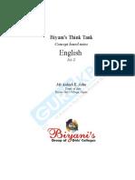 BA II English (Paper II)