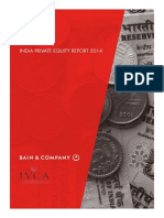 BAIN REPORT India Private Equity Report 2014