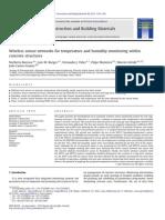 Construction and Building Materials Volume 40 issue 2013 [doi 10.1016_j.conbuildmat.2012.11.087] Barroca, Norberto; Borges, Luís M.; Velez, Fernando J.; Monte -- Wireless sensor networks for temperature and humi