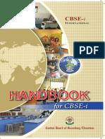 CBSE I HandBook