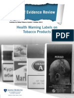 Health Warnings State of Evidence Final 11-18-2013 Web 0