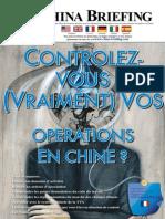Contrôlez-Vous (Vraiment) Vos Opérations en Chine
