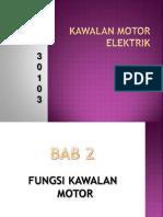 BAB 2 Fungsi Kawalan Motor