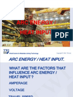 9. Arc Energy - Heat Input