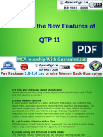 What Are the New Features of QTP11