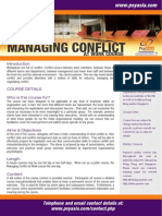 Managing Conflict at Work Course