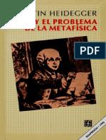 Heidegger Martin - Kant Y El Problema de La Metafisica