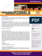Organisational and Interpersonal Communication Course