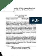 Movimientos Sociales Urbanos - Manuel Castells