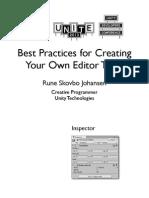 Editor Scripting Talk