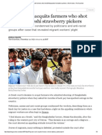 Greek Court Acquits Farmers Who Shot 28 Bangladeshi Strawberry Pickers _ World News _ the Guardian