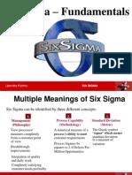 Six Sigma 2 Fundamentals