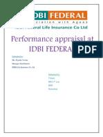 Performance Apprisal IDBI BANK