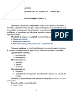 Ingrijiri La Domiciliu - Alimentatia Enterala