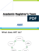 2.Academic Registrar's Team
