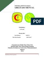 Penyuluhan Rehab Mental