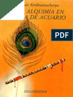 La Alquimia en la Era de Acuario - Ekkirala Krishnamacharya.pdf
