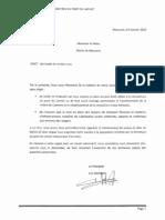 Sinistré lettre maire macouria 20100108