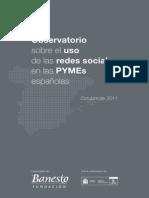 Estudio Observatorio Sobre El Uso de Las Redes Sociales en Las PYMEs Españolas