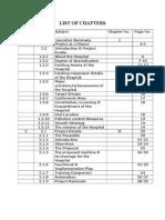 Project Report Heema Hospital Rev