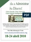 Money Week Houston 2010 Spanish Poster