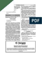 Decreto Supremo N° 002-2008-MINAM Estandares Nacionales de Calidad Ambiental para Agua