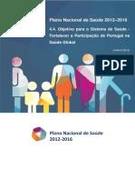 Saúde-Global Plano Nacional de Saúde 2012-2016