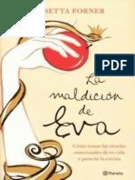 La Maldicion de Eva - Rosetta Forner