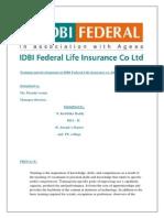 Training and Development at IDBI Bank