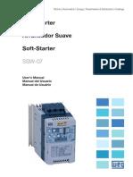39 Weg Soft Starter Ssw07 Manual Del Usuario 0899.5832