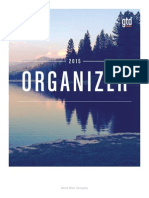 GTD Organizer Sample