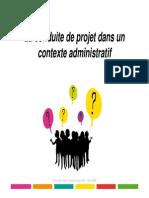 Formation Conduite ProjeT Des Administrations